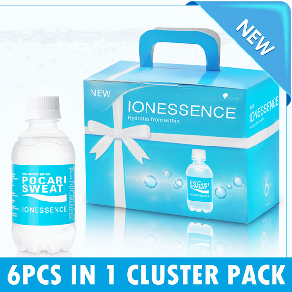 CLUSTER PACK POCARI SWEAT ION ESSENCE Deals for only Rp39.200 instead of Rp39.200