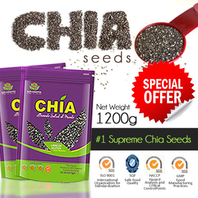 1200GRAM ORGANIC SUPERB QUALITY SEEDS IMPORTED FROM PERU VITAMIN C OMEGA 3 64X300GRAM ZIPLOCK PACK Deals for only RM129 instead of RM129