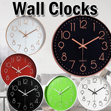 [11.11]DESIGNER SILENT WALL CLOCK03/12-Inch Non-Ticking Silent Wall Clock with Modern