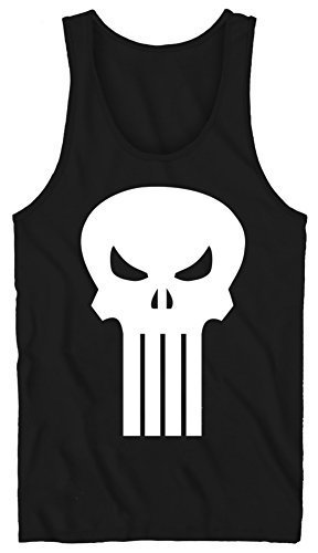 Qoo10 - (Marvel Comics) Tank Top  The Punisher - Plain Jane Size S ... 32d2185faa6f