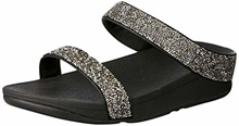 FitFlop Women s Fino Microfiber Slide Sandals