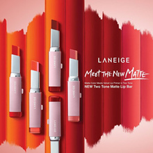 NEW LAUNCH! Laneige Two Tone Matte Lip Bar