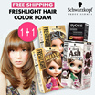 SCHWARZKOPF FRESHLIGHT FOAM HAIR COLOR - FRESHLIGHT HAIR COLOR FREE  PALLETE/PERFECT/SYOSS BOUNCY
