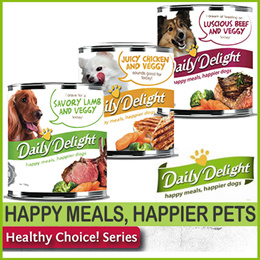 Dog wet/canned food by Daily Delights ) healthy choice series