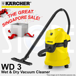 Karcher WD3 Wet  Dry Vacuum Cleaner **Free Shipping***12 months Warranty