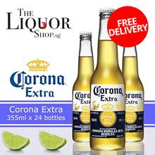 [CORONA]355ML X 24 BOTTLES CORONA EXTRA [ALC 4.6% VOL][TheLiquorShop]