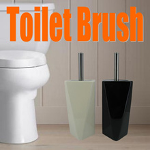 Ceramic Toilet Brush Set