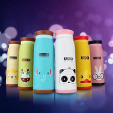 7bbfafd90fe 350ML Cute Animal Stainless Steel Vacuum Cup Portable Thermos Cup For Baby  Kids Water Bottle