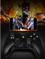 Apple MFi Certified PXN 6603 PXN-6603 Speedy Wireless Bluetooth Gamepad Game Controller Made for iPhone/ iPad/ iPod touch/ New Apple TV (4th generation) Color Black