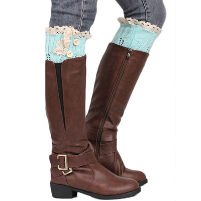 1cf779c12 2016 new arrival winter women socks lady Knitting Sock Leg Warmers Boot  Keep Warm Lace Short