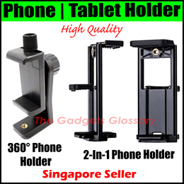 ⚠️360° Phone Holder⚠️2-in-1 Handphone Tablet Mobile Stand⚠️Tripod Camera Car Mount Singapore Seller