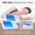 *BEST SELLER* Cool Gell Memory Foam Pillow | Original| Untuk Kenyamanan dan Tidur yang Berkualitas