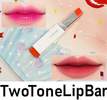 Laneige Two Tone Lip Bar Tinted Lipstick Eye Shadow korea two colour Push up tube stick Lip Tint new