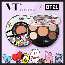 [VT KOSMETIK X BT21] EYE SHADOW PALETTE_MOOD BROWN / K-POP / TTBEAUTY