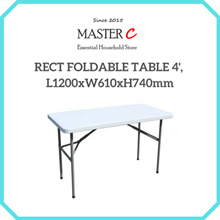 RECT FOLDABLE TABLE 4 L1200xW610xH740mm