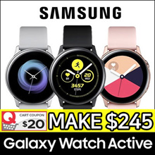 [SAMSUNG] Galaxy Watch Active Bluetooth 40mm ★ Smart Watch GPS Sports Band ★ Android / iOS ★