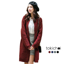 TOKICHOI - Knit Open Cardigan-172952-Winter