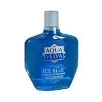Aqua Velva Classic Ice Blue Cooling After Shave 3 Pack 3.5 Oz