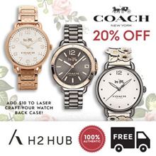 [H2 HUB] [20% SALE] [BEST SELLER] COACH CASUAL LADIES WATCHES + WARRANTY + FREE SHIPPING