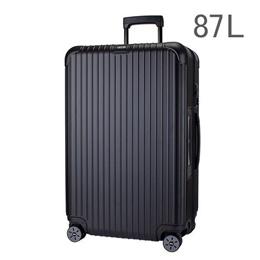 【E-Tag】 電子タグ RIMOWA リモワ サルサ 834.73 83473 マルチホイール 4輪 スーツケース マットブラック MULTIWHEEL 87L (810.73.32.4)