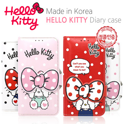 finest selection 62232 3b917 Hello Kitty★Authentic★Sanrio Face Flip Diay Case★iPhone  X/XS/Max/XR/8/7/6/S/Samsung A3/A5/A6/A7/A8/2018/Note