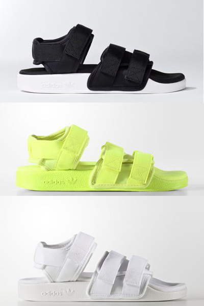 290aa6a18aa7  adidas AUTHENTIC ☆SANDALS EMS FREE SHIPPING takes