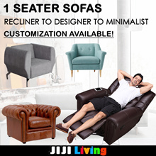 2018 Customization 1-Seater Sofas! ★Recliner Chair ★Designer/Minimalistic ★Fabric/Leather