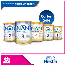 [Bundle Of 6 PROMO] Nestle Nan OPTIPRO® H.A. 2 Follow-Up 800g / H.A. 3 Growing Up 800g / OPTIP