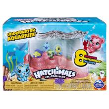 Hatchimals CollEGGtibles Mermal Magic Underwater Aquarium with 8 Exclusive