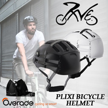 Plixi Helmets with Free Visor worth $19  For Cycling Skateboard Available in 2 Colors