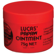 [Free shipping] - Lucas Papaw Ointment 75g !!!! Direct import from Australia **** Cheapest in town ****