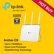 [TPLINK]TP-LINK Archer C20 AC750 Wireless Dual Band Router - 3 YEARS LOCAL  WARRANTY
