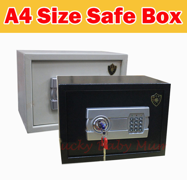 Clearance?A4 Size?Large Size Digital Security Safety Safe Box Paper Documents! Jewellery Gold Storag Deals for only S$100 instead of S$0