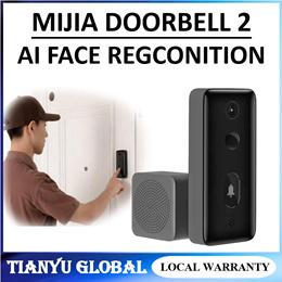 Xiaomi Mijia Video Doorbell 2 AI Face Identification Smart Doorbell Human Detect Night Vision