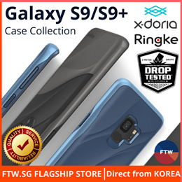 [FLASH SALE!!] Samsung Galaxy S9 / S9 Plus Ringke X-Doria Ultra-Slim Case 🌟Japan Tempered Glass