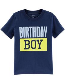 Carters Baby Birthday Boy Jersey Tee