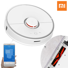 Xiaomi Robot Vacuum Cleaner 2 / Global Version / Wet Wipes + Vacuum Together / APP Link Position Definition System / 2000Pa Super Power Vacuum / 2cm Obstacle Pass /