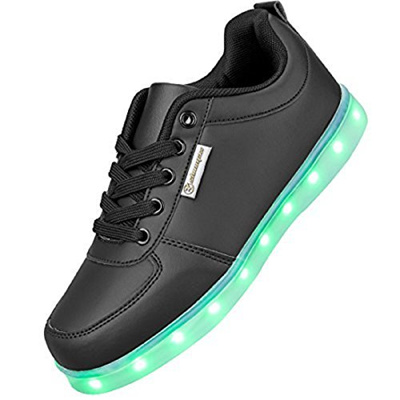 on sale 10383 90ccb Direct from Germany - LED Schuhe,Shinmax 7 Farbe USB Aufladen LED Leuchtend  Sport Schuhe Sportschuh