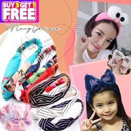 Korean Hairband Headband Hair band accessories Buy 3 Free 1 👍