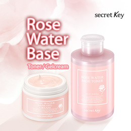 【Secret Key HQ】★1+1★Rose Water Base Toner/Gel Cream/Oil Clear Powder/No sebum