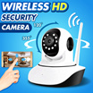 IP Camera CCTV Surveillance Night Vision Pan / Tilt Wireless HD Home Outdoor Wireless Security Camera