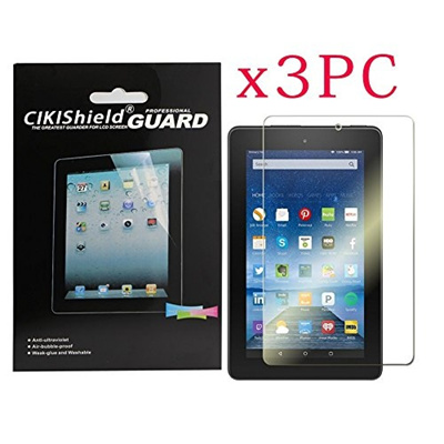 CIKIShield for Amazon New Kindle- Fire Tablet 10 Inch (5th Generation 2015  Release) Premium Clear Sc