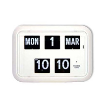 Flip Clock With Perpetual Calendar (QD-35 4 colours) Authentic Twemco