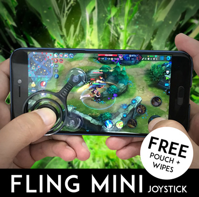 Fling Mini Mobile Gaming Joystick Mobile Joystick For Mobile Legends Bang Bang