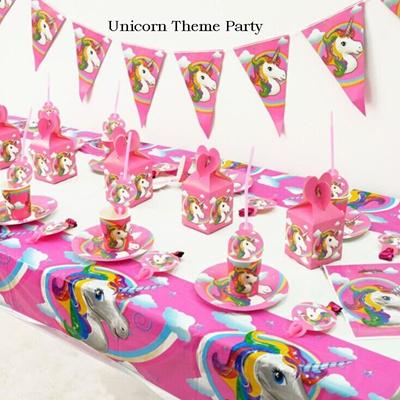 gagasan untuk dekorasi ultah unicorn - beauty glamorous