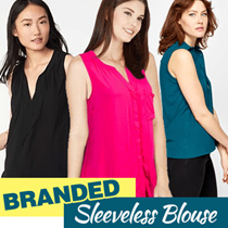 New Collection Branded Women Sleeveless Blouse - 10 Colors - Good Quality