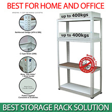 MYSTAR Bottless Shelf Rack Shelving System BS5000 (Fibre Board Shelf) Storage Sheler Organizer