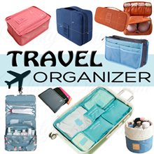 [Fast Local Delivery] ✈️   **Travel Organizer** Travel Essentials Organizer/ Bag in Bag/ Luggage
