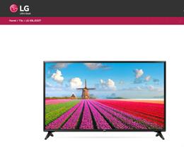 LG FHD TV - 49 inch ( 49LJ550T) - 2 years Warranty