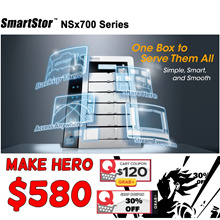 6 BAY/ 4 BAY NAS Drive PROMISE SmartStor NS6700 / NS4500